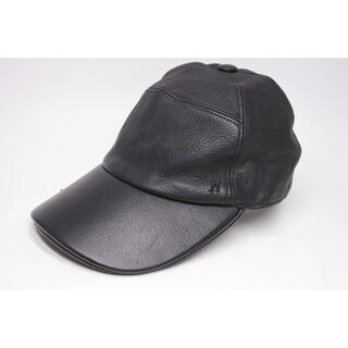 エルメス(Hermes)のエルメス  トリヨンレザー  キャップ 帽子 H 刺繍  57 中古(キャップ)