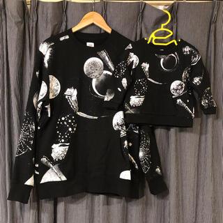 グラニフ(Design Tshirts Store graniph)の限定価格!グラニフ 銀河鉄道999コラボトレーナー 親子セット(スウェット)