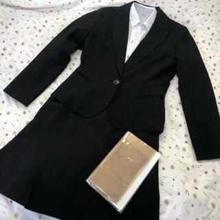 オリヒカ(ORIHICA)のレディース スーツ上下 半袖シャツ ストッキング 4点セット(スーツ)