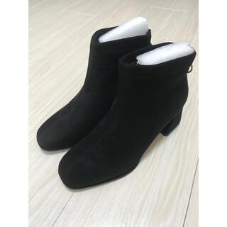 リエンダ(rienda)の【新品】2色あり 当日発送 ショートブーツ (ブーツ)
