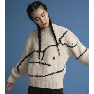 エディットフォールル(EDIT.FOR LULU)の新品タグ付き paloma wool パロマウール Palmira ニット S(ニット/セーター)