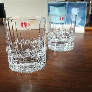 イッタラ(iittala)のiittala Pallasシリーズ ロックグラス 2個セット(グラス/カップ)
