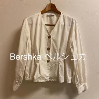 ベルシュカ(Bershka)のBershka ベルシュカ*L*ブラウス タック オーバー(シャツ/ブラウス(長袖/七分))