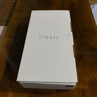 ソフトバンク(Softbank)のSimply ガラケー シンプリー ソフトバンク SIMフリー(携帯電話本体)