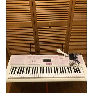 美品❗️ CASIO光ナビゲーション、電子キーボード LK-107(キーボード/シンセサイザー)