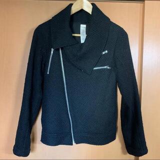 ムルーア(MURUA)のMURUA*ツイードジャケット 羽織るだけ、すぐカッコいい☆(ライダースジャケット)