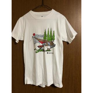 スノーピーク Tシャツ メンズSサイズ(Tシャツ/カットソー(半袖/袖なし))