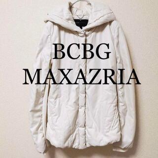 BCBGMAXAZRIA - BCBG MAXAZRIA 中綿ジャケット 白 S