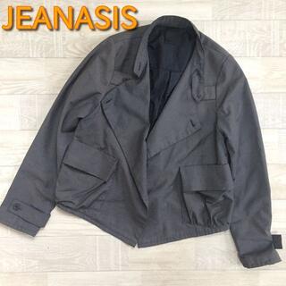 ジーナシス(JEANASIS)の【ジーナシス】変形ジャケット チャコール フリーサイズ(その他)