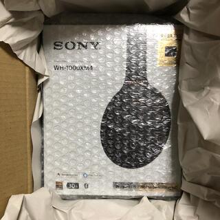 ソニー(SONY)の【新品未開封】送料込み SONYワイヤレスヘッドホン XH-1000XM4 BM(ヘッドフォン/イヤフォン)