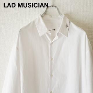 LAD MUSICIAN - 川上洋平着用 LAD MUSICIAN 白シャツ オーバーサイズシャツ