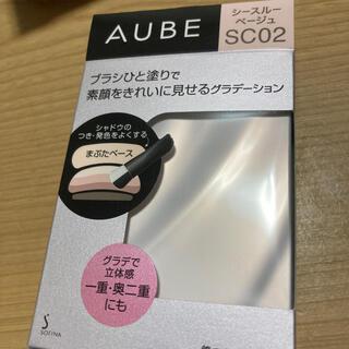 AUBE couture - ソフィーナ オーブ ブラシひと塗りシャドウN SC02 シースルーベージュ(4.
