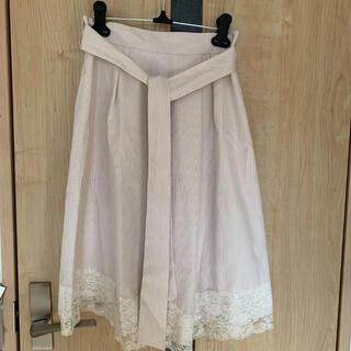 パターンフィオナ(PATTERN fiona)のチュールスカートひざ丈スカート(ひざ丈スカート)