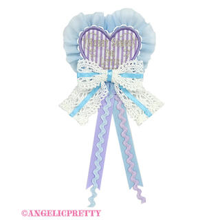 アンジェリックプリティー(Angelic Pretty)のAngelic Pretty MELODY TOYSハートワッペンブローチ(ブローチ/コサージュ)