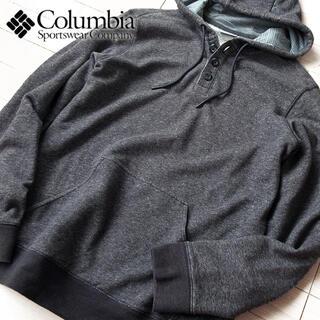 コロンビア(Columbia)の超美品 大きめS コロンビア メンズ パーカー グレー(パーカー)
