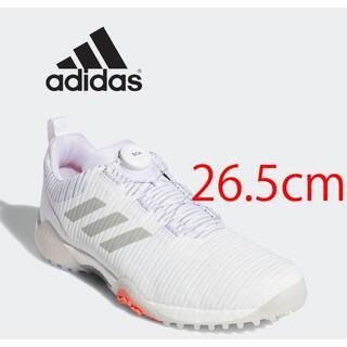 adidas - アディダス ゴルフシューズ コードカオス ボア ロウ ホワイト