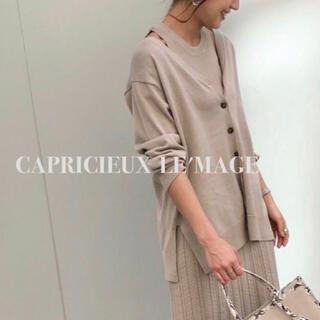 カプリシューレマージュ(CAPRICIEUX LE'MAGE)の新品¥9790【CAPRICIEUX LE'MAGE】カーディガン (カーディガン)
