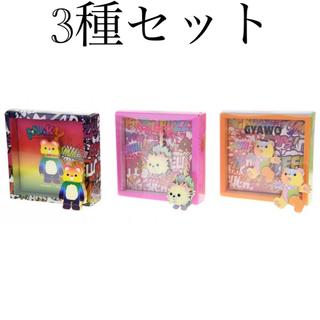 POP MART × INSTINCTOY SHOCK可動式ピンバッチ3種セット(キャラクターグッズ)