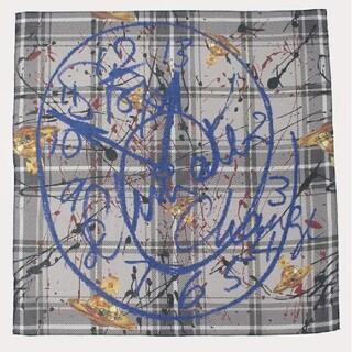 Vivienne Westwood - 新作🌟秋冬🕒クロック🕤大判ハンカチ定価2200円ヴィヴィアンウエストウッド
