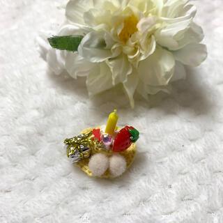 【omame311様専用】ハムスター用バースデー帽子(おもちゃ/ペット小物)