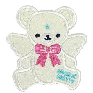アンジェリックプリティー(Angelic Pretty)のAngelic Pretty Milkyベアークリップ シロ(バレッタ/ヘアクリップ)