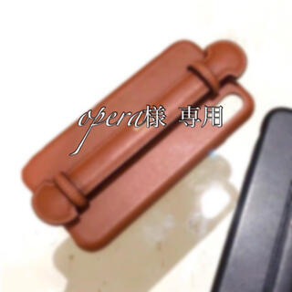 opera様 専用 iPhone12mini BROWN(iPhoneケース)