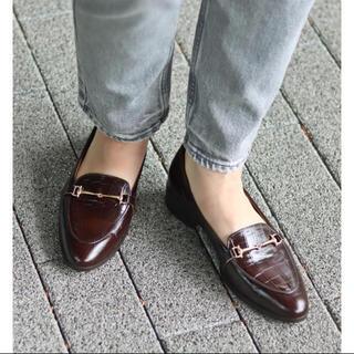 イエナ(IENA)のLe Talon GRISE レザービットローファー(ローファー/革靴)