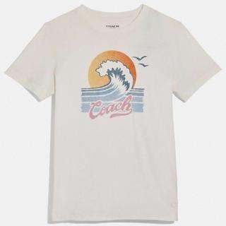 コーチ(COACH)の【COACH★F72431】コーチ レディーストップス半袖Tシャツ 新品タグ付き(Tシャツ(半袖/袖なし))