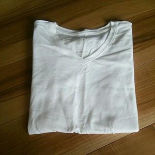 ムジルシリョウヒン(MUJI (無印良品))の無印 シンプル 白Tシャツ(Tシャツ(長袖/七分))