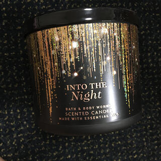 バスアンドボディーワークス(Bath & Body Works)のINTO THE NIGHT(アロマ/キャンドル)