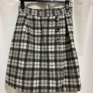 パターンフィオナ(PATTERN fiona)のギンガムチェックのスカート(ひざ丈スカート)