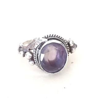 天然石シルバーリング(リング(指輪))