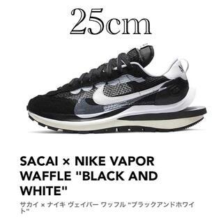 サカイ(sacai)のNike x sacai ナイキ × サカイ ヴェイパーワッフル ブラック(スニーカー)