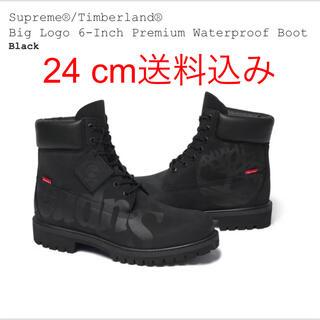 シュプリーム(Supreme)のSupreme Timberland Big Logo 6-Inch Boot (ブーツ)