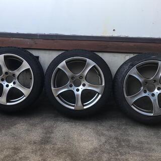 ビーエムダブリュー(BMW)のBMW用スタッドレス タイヤとホイール4本セット(タイヤ・ホイールセット)