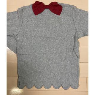 デビロック(DEVILOCK)の【新品】デビロック☆バックリボン☆長袖シャツ160cm(Tシャツ/カットソー)