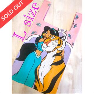 ディズニー(Disney)のアラジン ジャスミン エコバッグ レジ袋♡ ハンドメイド(バッグ)