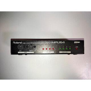 再値下げ ROLAND Super MPU64 USB MIDIインターフェース(MIDIコントローラー)