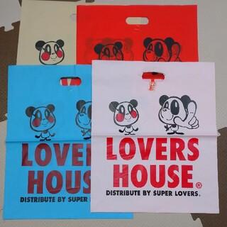 ラバーズハウス(LOVERS HOUSE)のLOVERS HOUSE ショップ袋(ショップ袋)