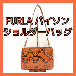 フルラ(Furla)の【FURLA】フルラ ハンドバッグ ショルダーバッグ ヘビ革(ショルダーバッグ)