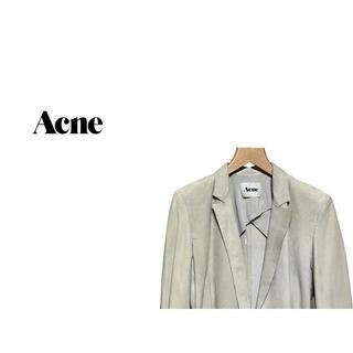 アクネ(ACNE)のACNE ボンディング レザー テーラードジャケット / アクネ (テーラードジャケット)