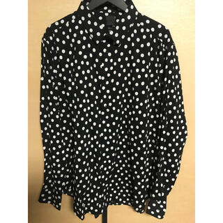 H&M - H&M ドットシャツ サイズXL
