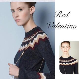RED VALENTINO - RED VALENTINO♡ フレアスリーブニット