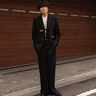 SUNSEA - SUNSEA 20AW N.M Thickened Wide Pants【2】