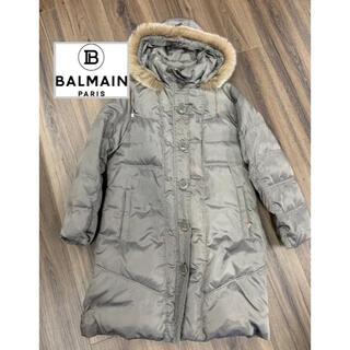 バルマン(BALMAIN)のバルマン BALMAIN PARIS コート ダウンジャケット ファー (ダウンジャケット)
