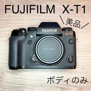 フジフイルム(富士フイルム)の【美品】FUJIFILM X-T1 フジフィルム ボディのみ XT1(ミラーレス一眼)