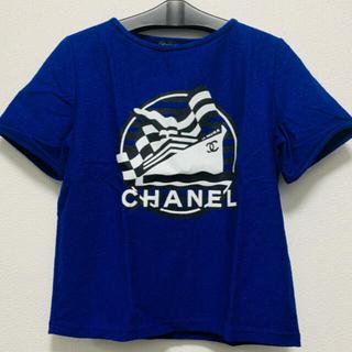 CHANEL - シャネル ブルー Tシャツ
