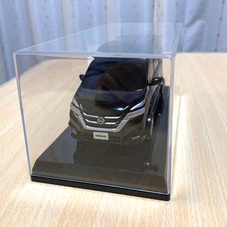 ニッサン(日産)の【新品】日産セレナ 模型 ブラック(ミニカー)