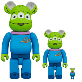 BE@RBRICK ALIEN 100% & 400%(その他)