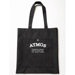 【atmos PINK】カレッジロゴBigトートバッグ